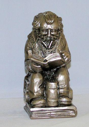 Figur Bücherwurm