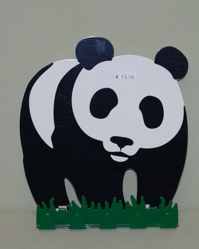 Kleiderhaken Panda