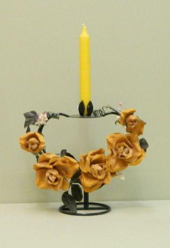 Kerzenständer Rose
