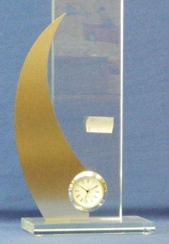 Glasständer Uhr