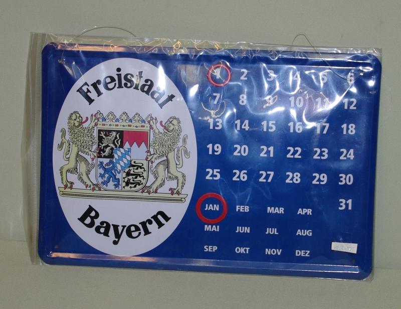 Bayerischer Dauerkalender
