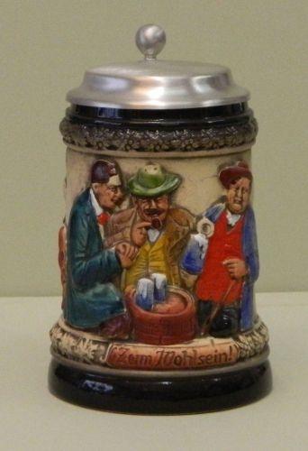 Bemalter Bierkrug
