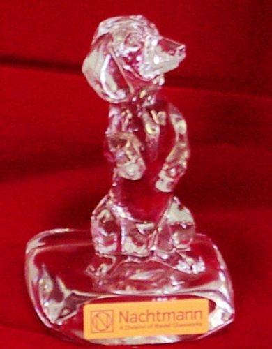 Kristallfigur Dackel