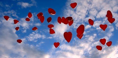 Gasbefüllte Luftballons